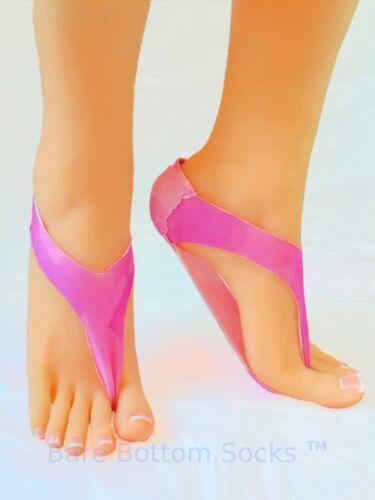 Flip Flop Socks Yoga Socks Thong Sock Pink socks Tie Dye