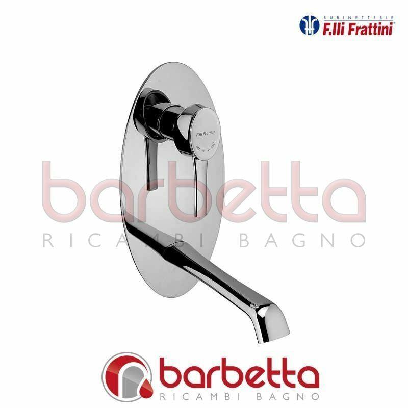 BATTERIA LAVABO A PARETE VERTICALE SENZA SCARICO DELIZIA FRATTINI 58035