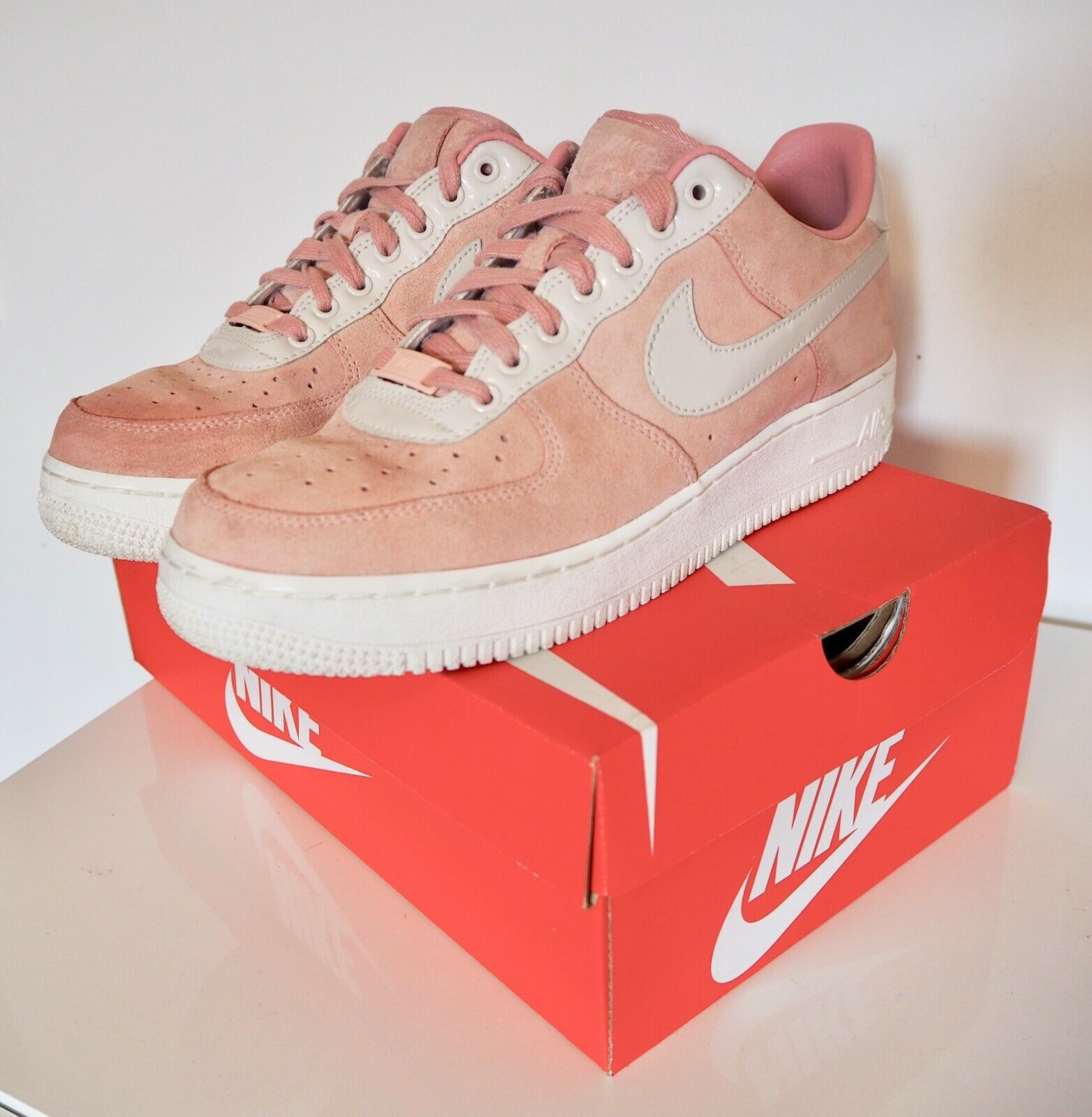 NIKE Air Force chaussures femmes 42 Come Nuove NIKE ID ORIGINALI