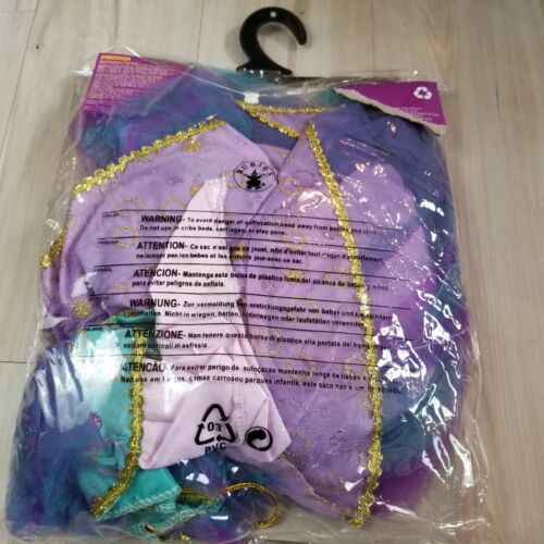 Halloween girl costume light up Witch 4-6 4 6 year lavender witch princess dress