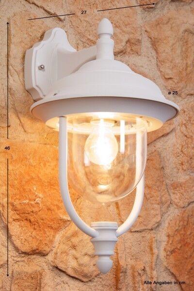 Design Außenlampe Lampe Wandleuchte Leuchten Außenleuchte weiß Wandlampe Alu NEU | Deutschland München  | Züchtungen Eingeführt Werden Eine Nach Der Anderen  | Stil