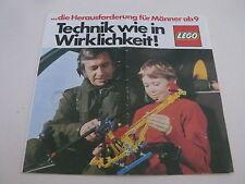 Lego catalogue de 1977 / catalog from 1977 ( 98951-D )