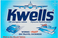 Kwells Tablets - 12 Tablets Travel Sickness Tablets
