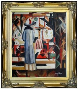 Framed-Hand-Painted-Oil-Painting-Repro-August-Macke-Bright-Shop-20x24in