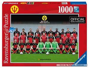 1000 pcs jigsaw puzzle: Belgian Red Devils (Belgium, Sports, Famous People)