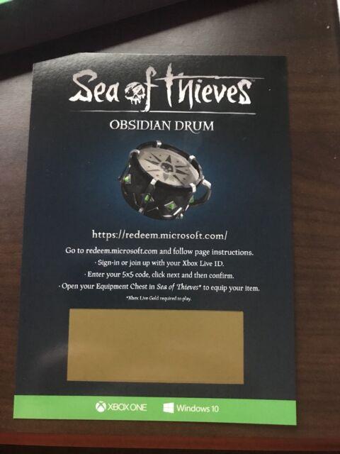 Sea of Thieves Obsidian Eye of Reach Code E3 2018 RARE Exclusive DLC | eBay