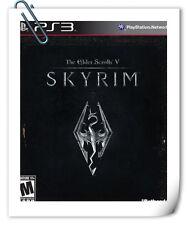 PS3 THE ELDER SCROLLS V SKYRIM 上古卷轴5 天际 中文版 Sony PlayStation RPG Games Bethesda