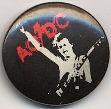 AC/DC Badge Button #001ADVERB