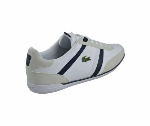 Lacoste Giron 116 1 Spm Blanc Chaussures Baskets Blanc