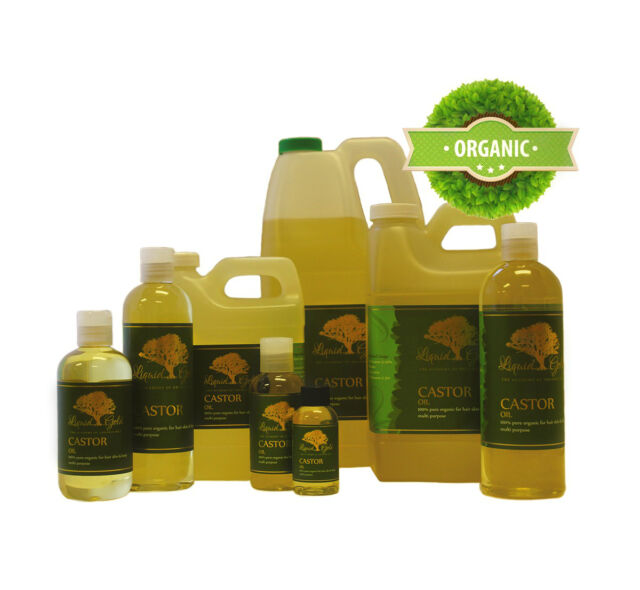 32 Oz Pure Premium USP Grade Organic Castor Oil Cold Pressed Hexane