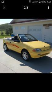 1991 Firefly restored