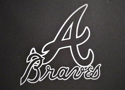 Atlanta Braves vinyl sticker for skateboard luggage laptop tumbler car