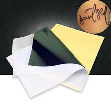 10Sheets/set Tattoo Stencil Transfer Template Carbon Copier Paper for Machine