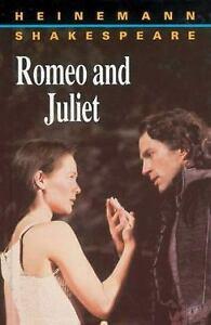 Romeo and Juliet Heinemann Shakespeare Hardcover William Shakespeare
