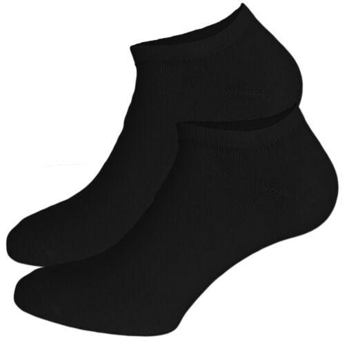 Sneakersocken unisexes-Femmes//Homme 15 Paire 90/% coton-Taille 36 à 44