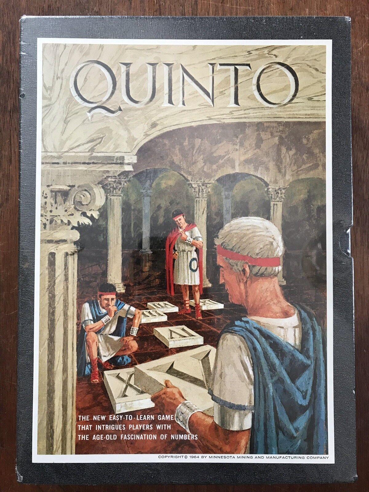 Board Game, Quinto, 3M, 1964