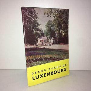 GRAND-DUCHE-DE-LUXEMBOURG-1965-RENSEIGNEMENTS-TOURISTIQUES-Office-Tourisme