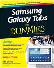 Samsung Galaxy Tabs For Dummies von Dan Gookin (2014, Taschenbuch)