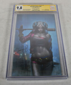 Batman-Detective-Comics-1000-DC-CGC-SS-9-8-Jeehyung-Lee-Signed-Virgin-Variant