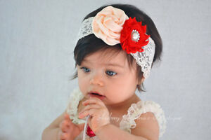 Baby-Girls-Headband-Lace-Flower-Bow-Elastic-Band-Hairband-Hair-Accessories