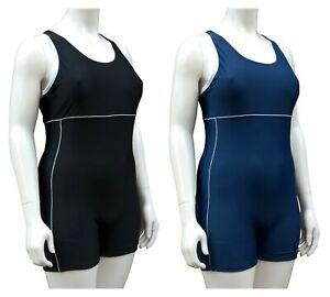 ACCLAIM Porto Ladies Boy Leg Modesty Swimming Costume Lined Front 2020 Model