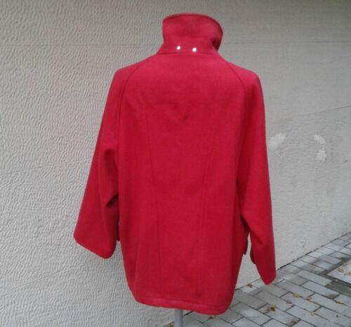 Velluto Rosso Taglia 44 Donna Colletto In Gerani Lana 46 Giaccone pEqwCpRY