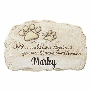 New Personalized Pet Dog Cat Memorial Stepping Stone