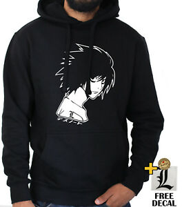 Ryuk L Anime Yagami Black Note Kira Light Jumper Death Hoodie cK3Fu1TlJ