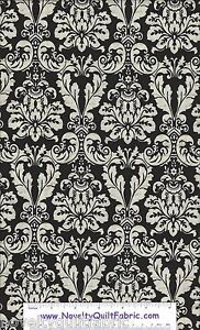 Joyeaux-Noel-Black-White-Dresden-Feather-E29889-99-StudioE-Quilt-Fabric-BTY