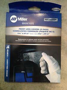 """Miller 216326 Outside Cover Lens 4-11//16/"""" X 5-5//8/"""" Pkg = 5"""