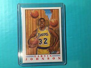 EARVIN-MAGIC-JOHNSON-1991-FLEER-PROVISION-INSERT-CARD-6-LAKERS