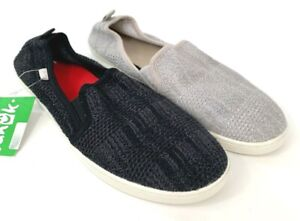 Sanuk Brook Knit Women's Slip On Grey