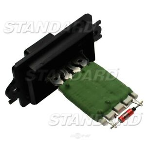 HVAC Blower Motor Resistor Front Standard RU-488
