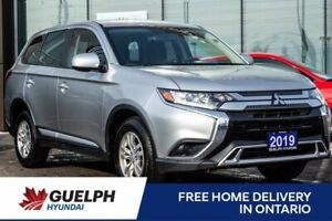 2019 Mitsubishi Outlander ES 4WD-Camera| Heated Seats| 5 To Pick From!