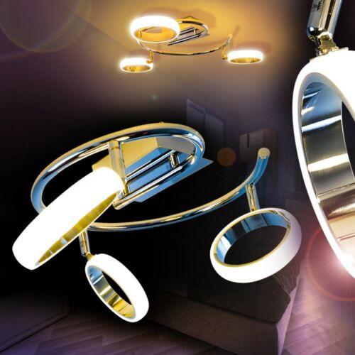 Decken Lampen LED Wohn Schlaf Zimmer Beleuchtung Flur Dielen Strahler drehbar