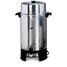 West Bend 100-Cup Commercial Coffee Urn Large Capacity, Buffet Line, Office NEW