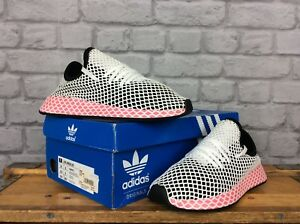 5 £ Mesh Scarpe 80 Uk Rrp 38 Deerupt Eu ginnastica Adidas Black Ladies da Pink qBZnXwZO