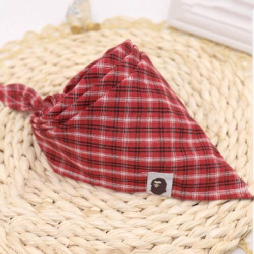 Baby Kids Feeding Head Scarf Towel Bib Boy Girl Bandana Saliva Triangle Dribble