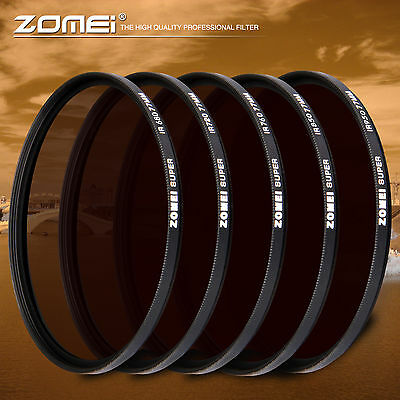Zomei 72mm IR 680nm+720nm+760nm+850nm+950nm INFRARED FILTER for DSLR camera