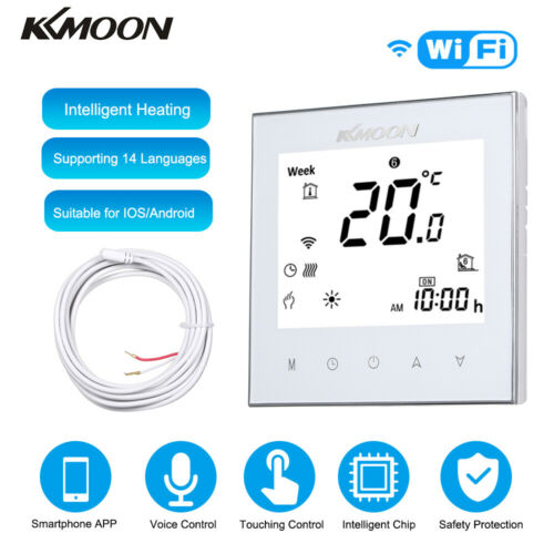 KKmoon Digital Underfloor Heating Thermostat for Electric Heating System G5C7
