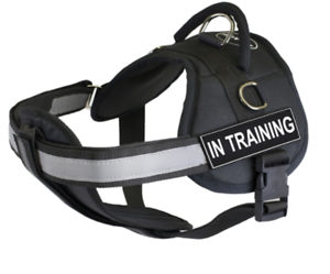 Dean-amp-Tyler-DT-Works-with-Chest-Pad-Support-Dog-Harness-with-Removable-Patches