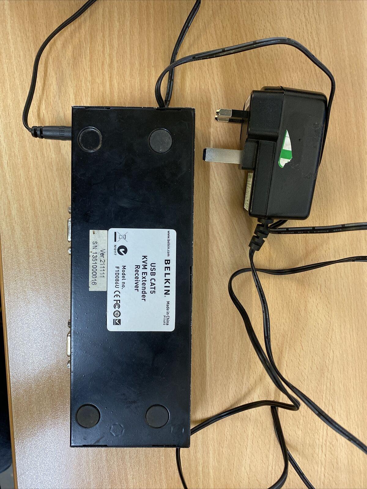 Belkin USB CAT5 KVM Extender - Model F1D086U