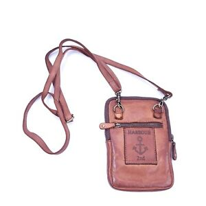 Read - Harbour 2nd Women's Cognac Leather Wallet/Phone Case Bag Crossbody Small