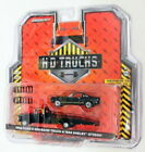 1968 Ford F-350 Ramp Truck & 1966 Shelby Gt350h Black 1/64 by Greenlight 33130 a