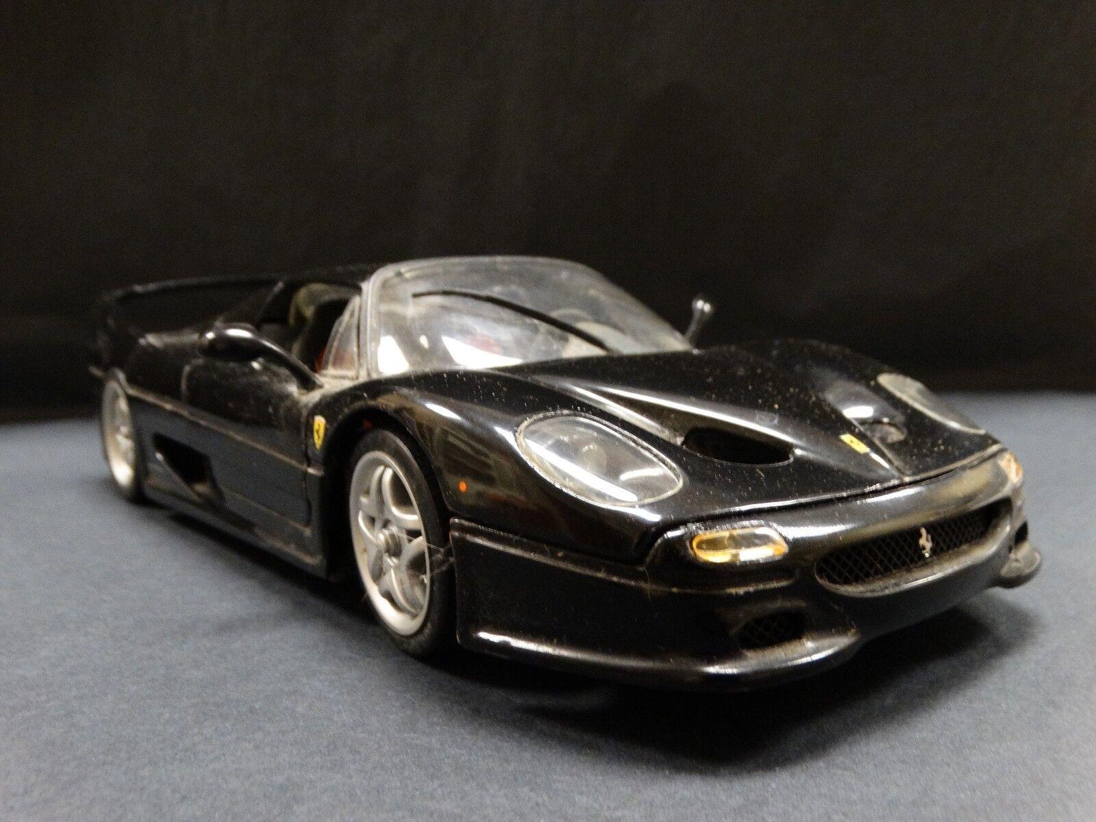 Hot Wheels Ferrari F50 2018 Raro Negro  escala Diecast Modelo de Coche