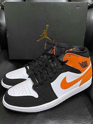 Nike Air Jordan 1 Retro Mid Shattered Backboard 10 13 Black Starfish 554724 058 Ebay