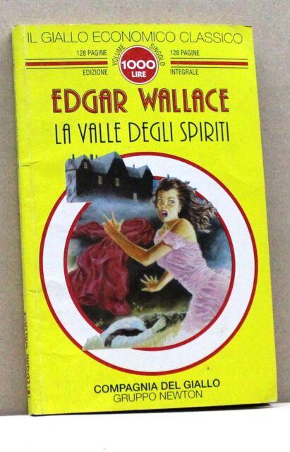 LA VALLE DEGLI SPIRITI - E. Wallace [Libro, Il giallo economico classico n. 33]