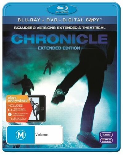 1 of 1 - Chronicle (Blu-ray, 2012) +Priority Post