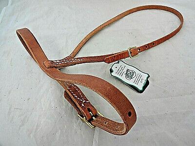Romel Romal Reins Round Hermann Oak Harness Leather Horse Tack Berlin Custom