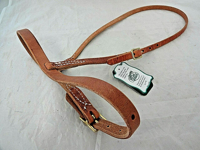 Berlin Custom Leather Covered Double Rope Noseband H903